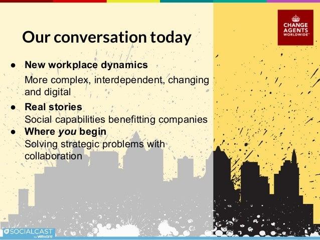 Social Collaboration for Business Benefit Slide 3