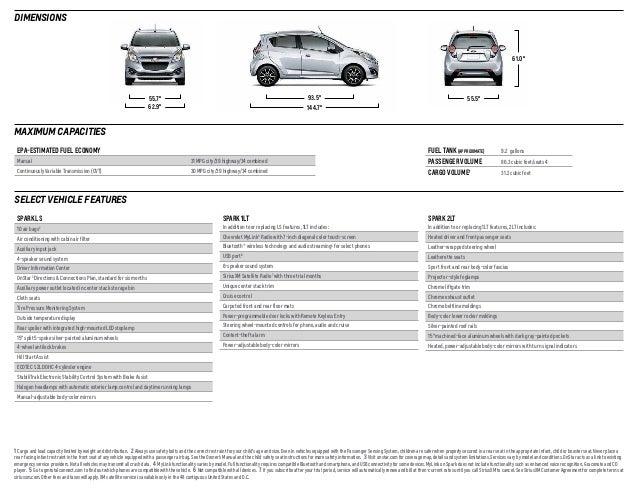 2014 Chevrolet Spark Brochure