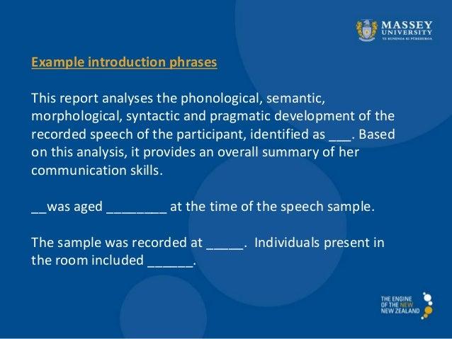 2014 speech and language development assignment 2 workshop 1
