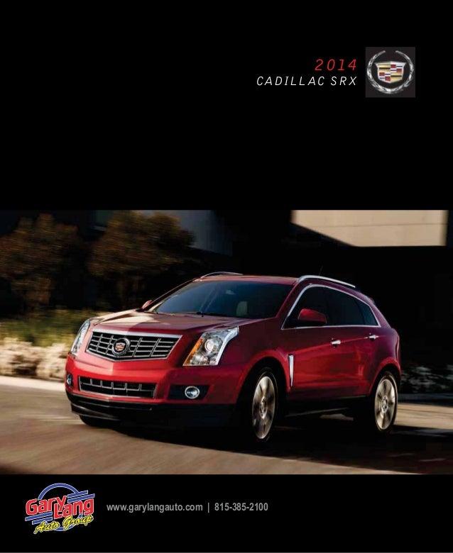 Cadillac 2013 Srx: 2014 Cadillac SRX Brochure