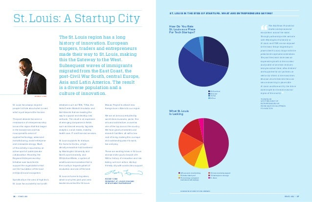 St. Louis: A Startup City  ro d n e y c r i m  St. Louis in the Eyes of Startups. What are entrepreneurs saying?  The St. ...