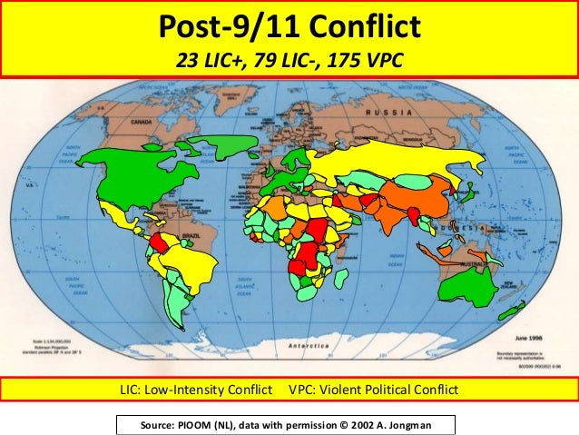Four Modern Threats To The State 8 Post 9 11 Conflict