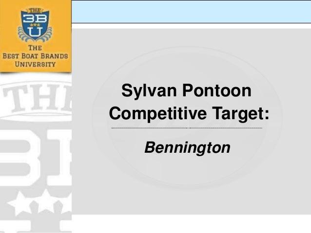 Sylvan Pontoon Competitive Target: ______________________________________________________________________________  Benning...