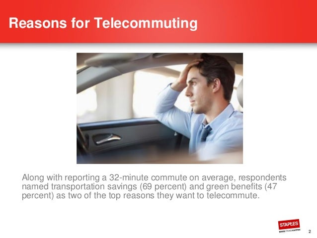 the decentralization and benefits of telecommuting programs Connecting the modern workforce: managing today's telecommuters  telework programs report a 63 percent  the benefits to telecommuting are exciting and.