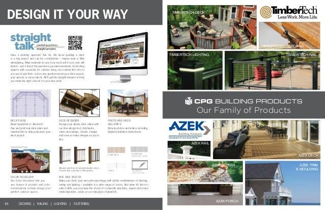 2014 TimberTech Deck Catalog