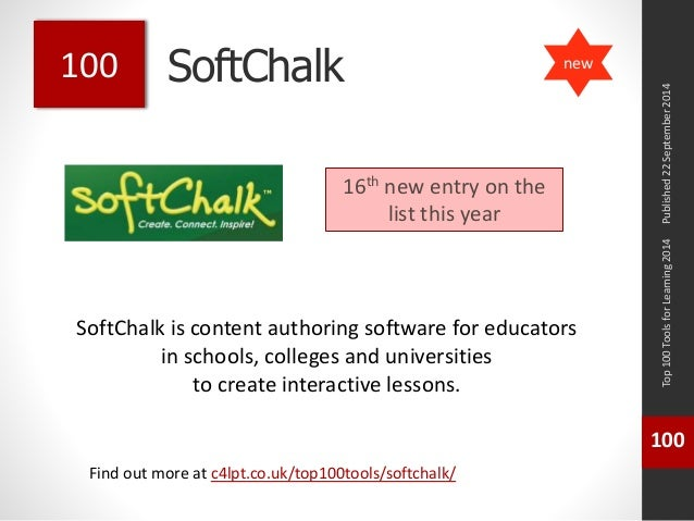 SoftChalk  SoftChalk is content authoring software for educators  in schools, colleges and universities  to create interac...