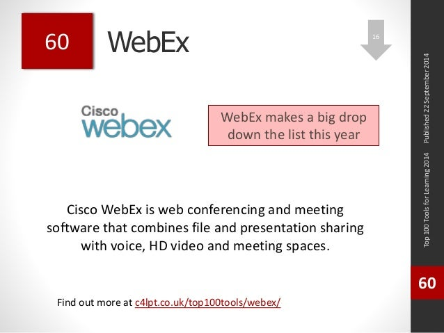 WebEx Cisco WebEx is web
