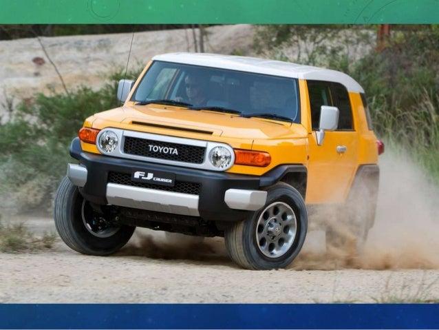 2014 TOYOTA FJ; 7. Toyota San Diego ...