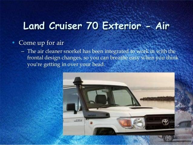 4x4 Air Intake Snorkel Kit For Toyota LandCruiser 70 76 78 1GR-FE 1VD-FTV 07-ON