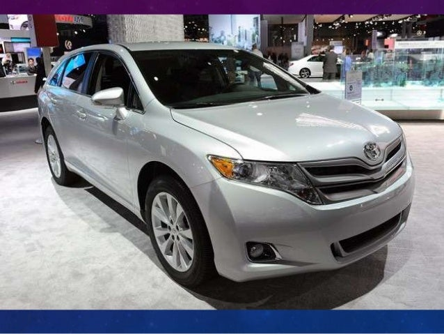 Toyota Gave The Venza ...
