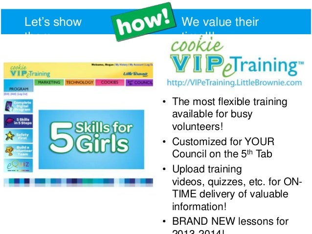 2014 cookie training