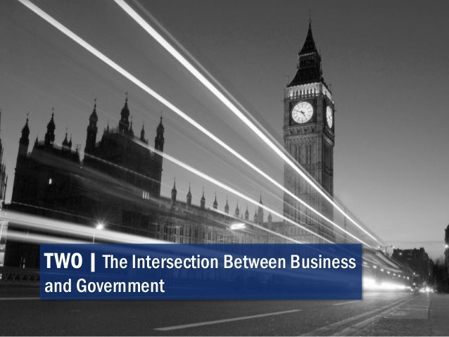 TWO   The Intersection Between Business and Government