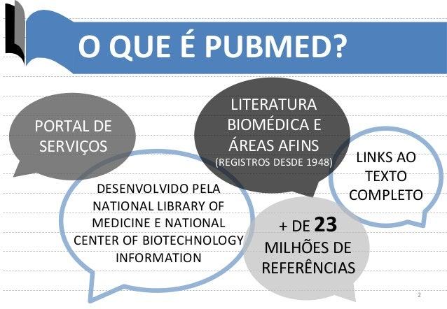 Tutorial PubMed - módulo básico Slide 2