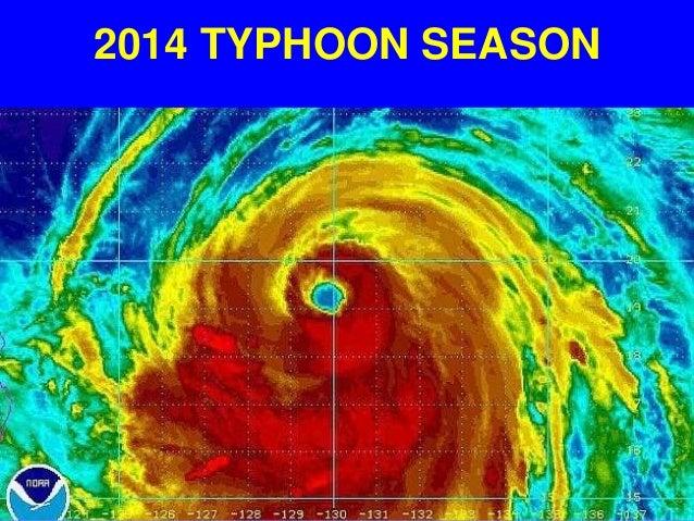 2014 TYPHOON SEASON
