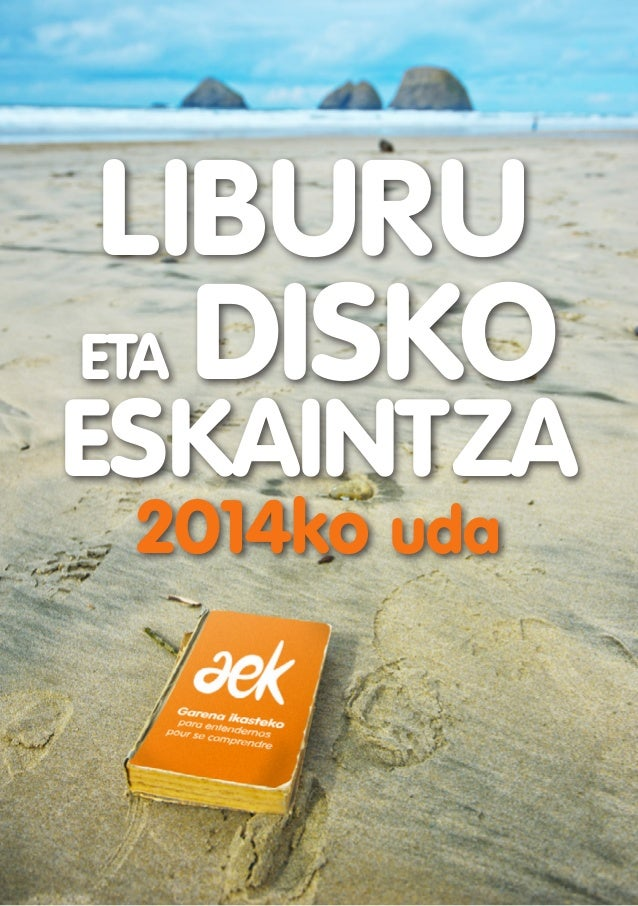 2014ko uda LIBURU ESKAINTZA eta DISKO
