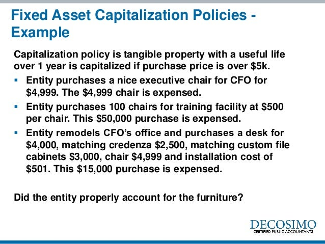 Accounting oopsies jennifer goodman for Fixed asset policy template