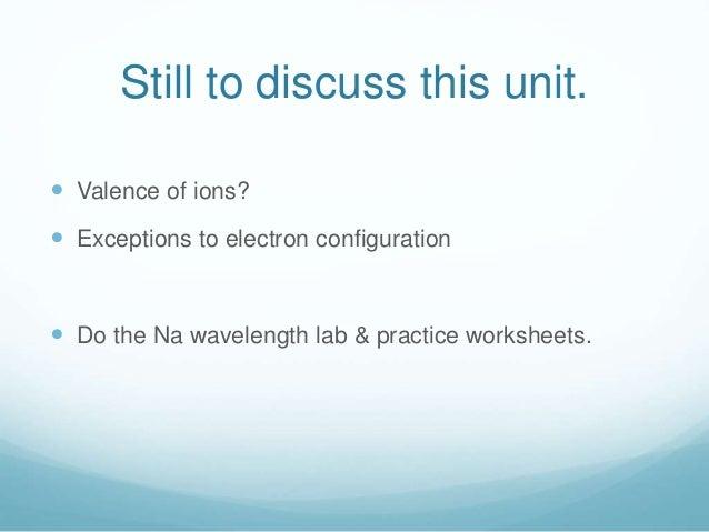 Electron Configuration Worksheet Answer Key - Tecnologialinstante