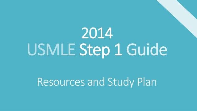 Usmle Step 1 Guide 2014