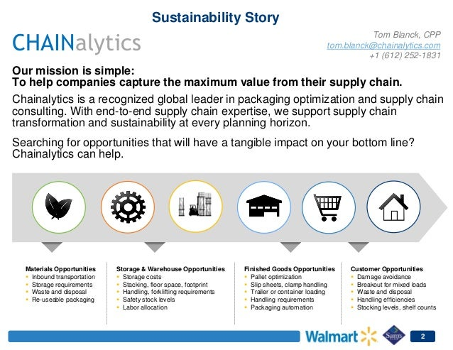 wal mart seafood supply chain case study Free essay on walmart marketing history and marketing case study this paper will highlight how wal-mart has successfully could unlock supply chain cost.