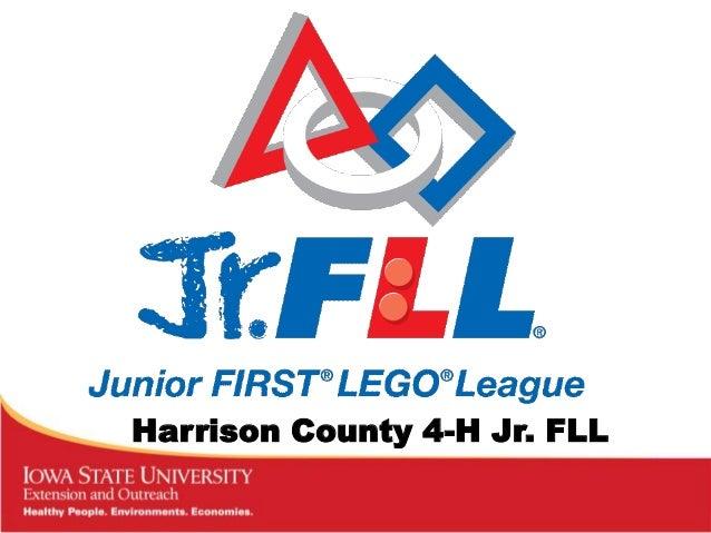 Harrison County 4-H Jr. FLL