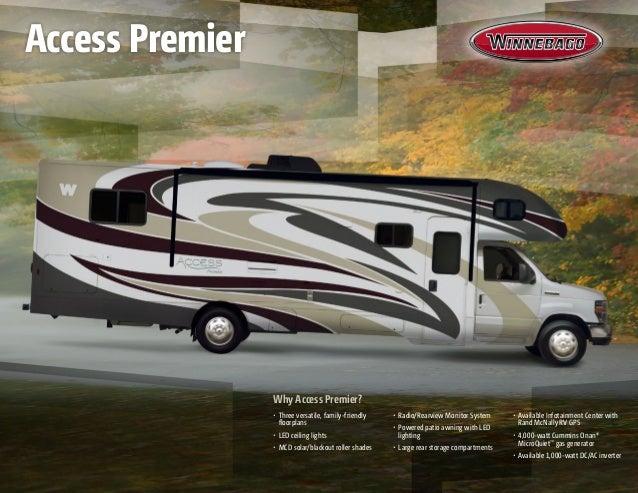 2014 Winnebago Access Premier Class C Motorhome