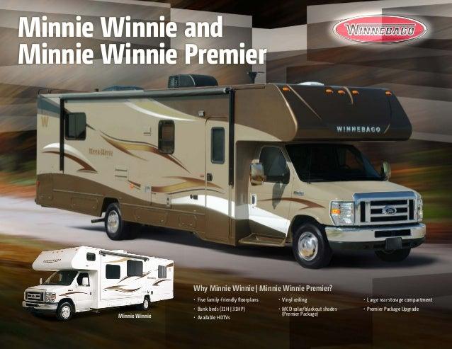 2014 Winnebago Minnie Winnie Minne Winnie Premier Class C Motorhomes