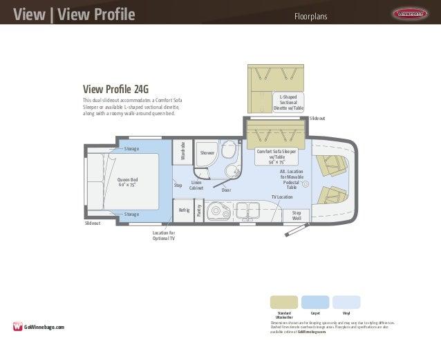 2014 Winnebago View  View Profile Class C Motorhomes
