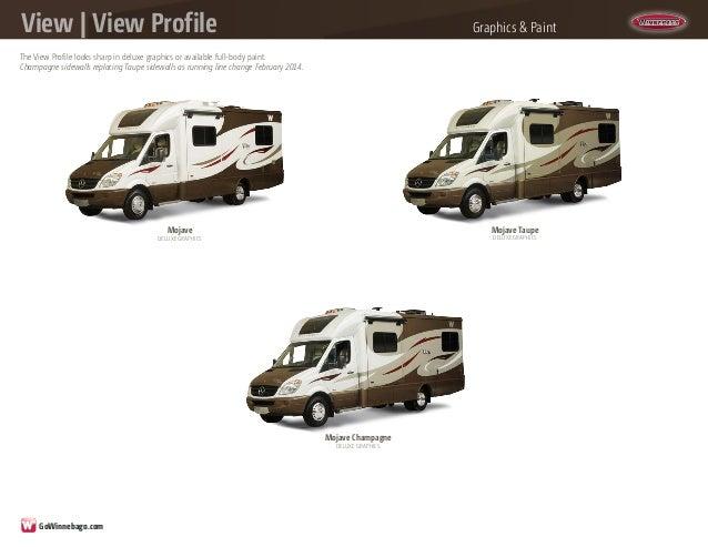 2014 Winnebago View - View Profile Class C Motorhomes