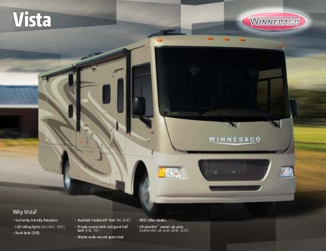 Why Vista? • Six family-friendly floorplans • LED ceiling lights (NA 26HE, 31KE) • Bunk beds (35B) • Available StudioL...