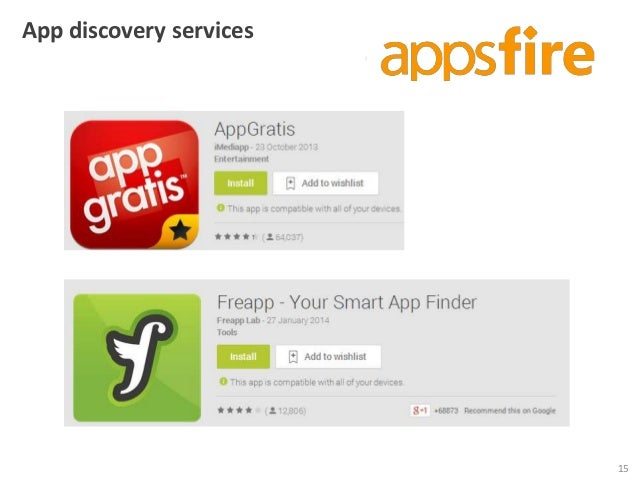 App discovery services  15