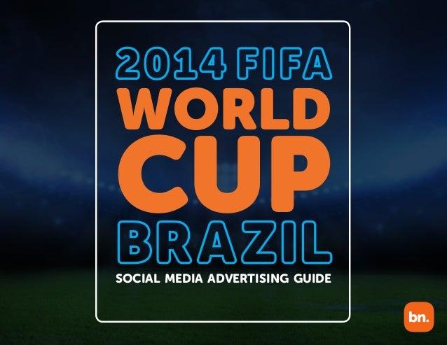WORLD CUP SOCIAL MEDIA ADVERTISING GUIDE