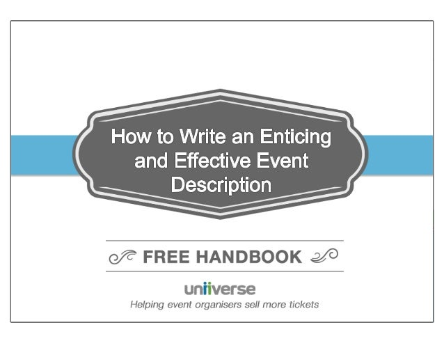 How to Promote Events and Sell Tickets on Facebook  © Uniiverse  0