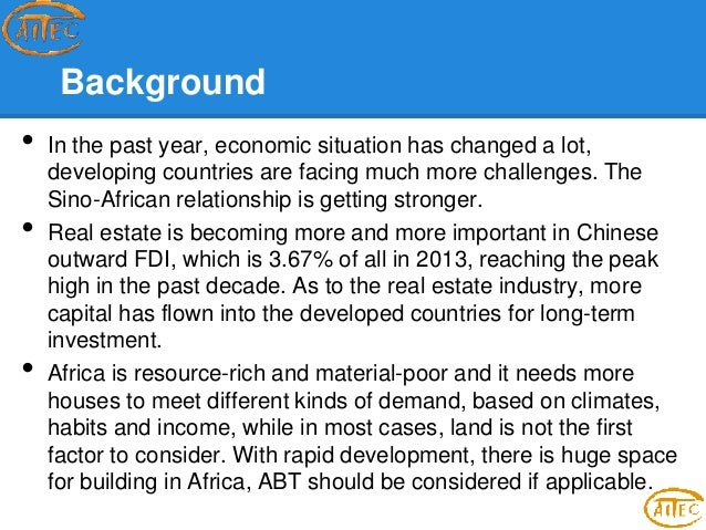 the role of fdi in africa The role of foreign direct investment into the 10 trends on foreign investment in africa 09 jul 2015 geography has a direct impact on the flow of africa fdi.