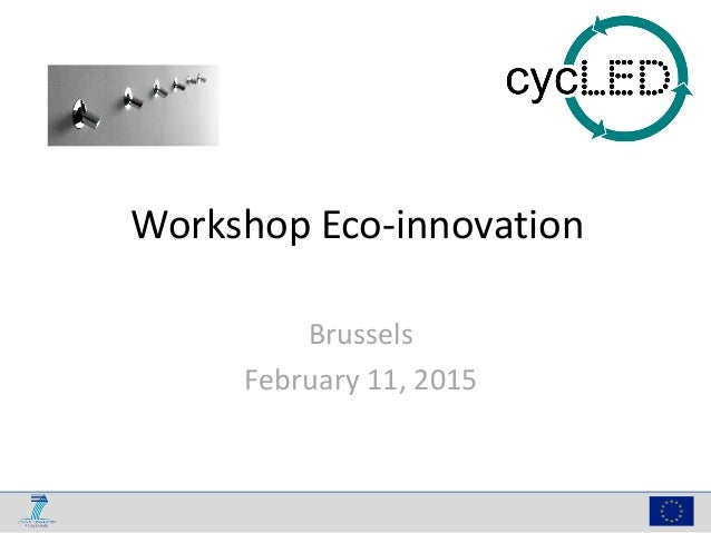 Workshop Eco-innovation Brussels February 11, 2015