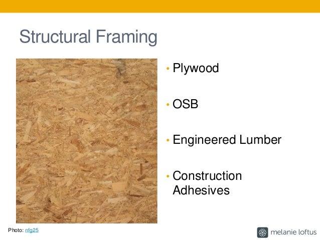 Sanded plywood plywood plywood sheathing subfloor lumber for Healthy flooring guide