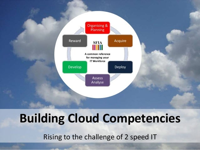 Building Cloud Competencies Rising to the challenge of 2 speed IT