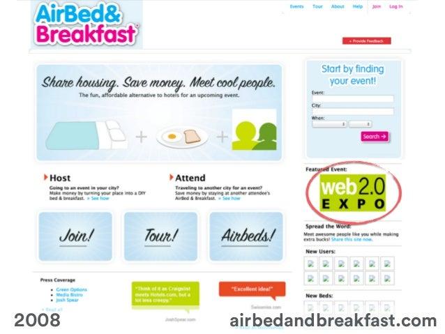 ! airbedandbreakfast.com2008