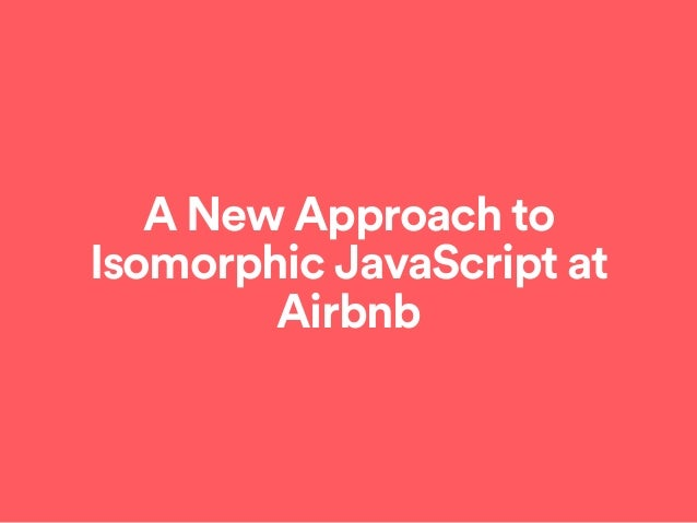 The Evolution of Airbnb's Frontend