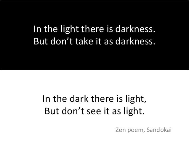 Poems About Darkness And Light 6