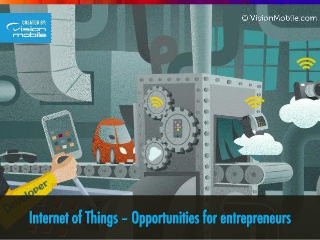 Internet of Things – Opportunities for entrepreneurs