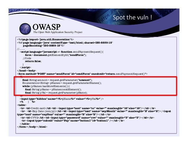 OWASP Java Encoder Project https://www.owasp.org/index.php/OWASP_Java_Encoder_Project • No third party libraries or confi...
