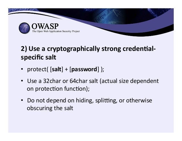 Encryption in Transit (HTTPS/TLS) • HTTPS configuration best practices –https://www.owasp.org/index.php/ Transport_Layer...