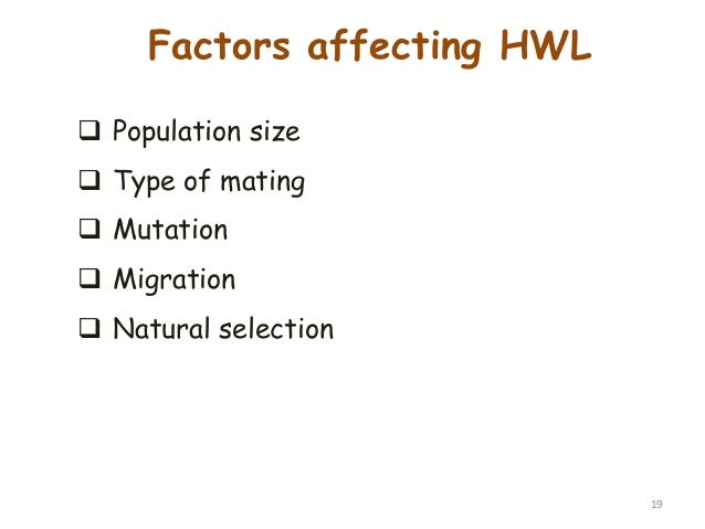 Three Factors Of Natural Selection