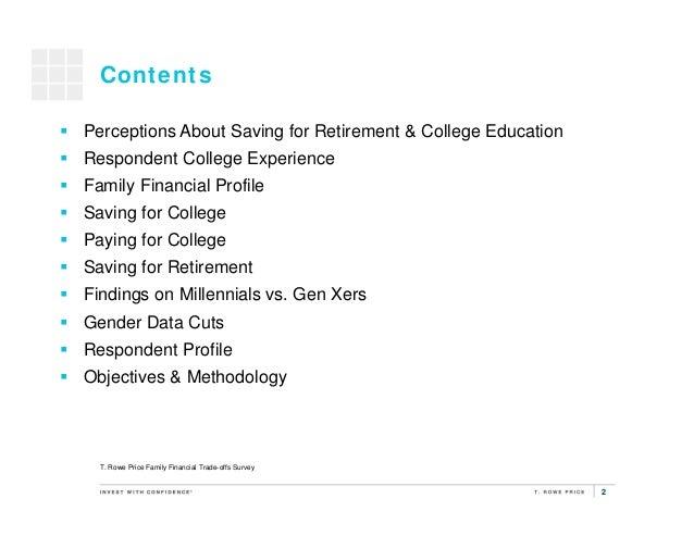 2015 Family Financial Trade-offs Survey Highlights Slide 2