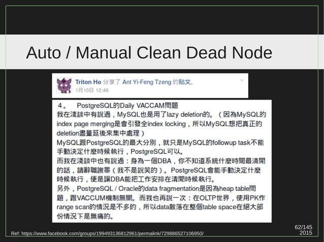 62/147 2015 Auto / Manual Clean Dead Node Ref: https://www.facebook.com/groups/199493136812961/permalink/729886527106950/