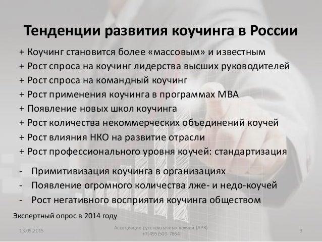 """Отчёт о форсайте """"Развитие профессионального коучинга для будущего России Slide 3"""
