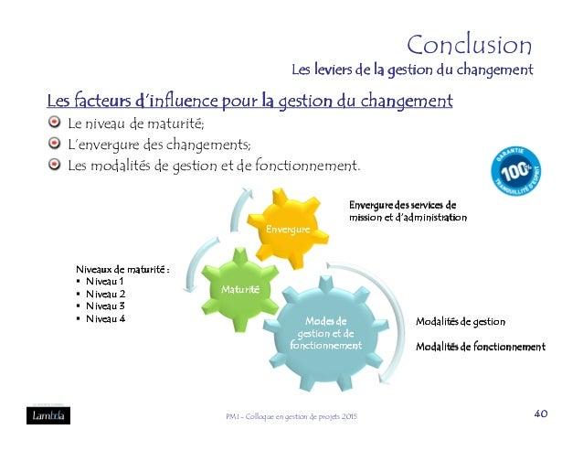 la gestion du changement pdf