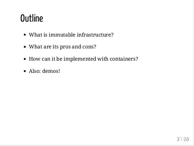 Immutable infrastructure with Docker and containers (GlueCon 2015) Slide 3