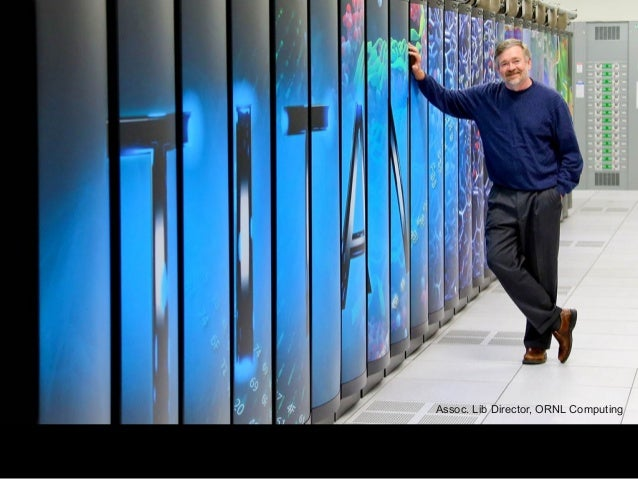 Assoc. Lib Director, ORNL Computing