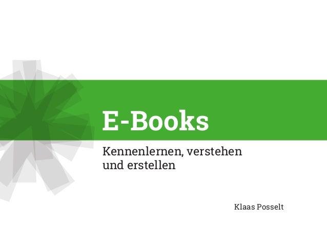 Kennenlernen, verstehen understellen Klaas Posselt E-Books